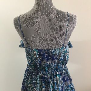 City Triangles Dresses - City Triangle women's summer blue dress size M